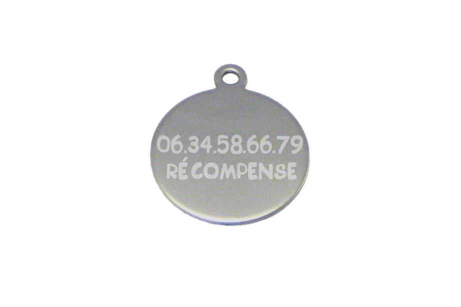 Médaille ROND BULL TERRIER