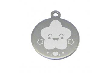 Médaille ROND RAINBOW