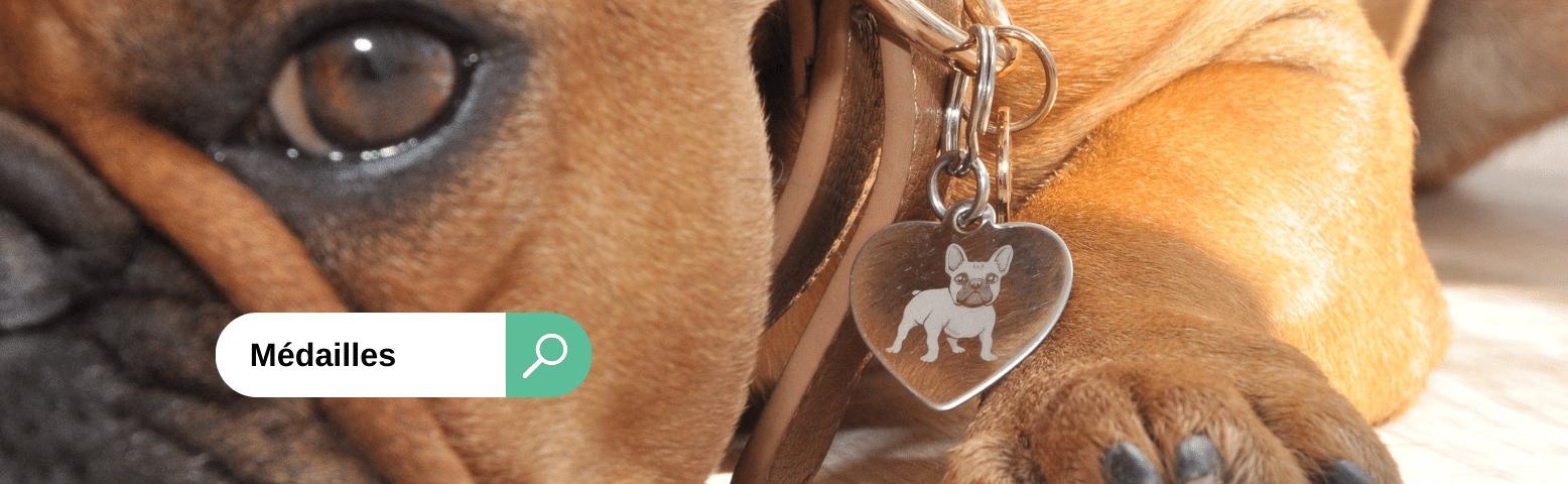 Médailles à graver pour chiens et chats